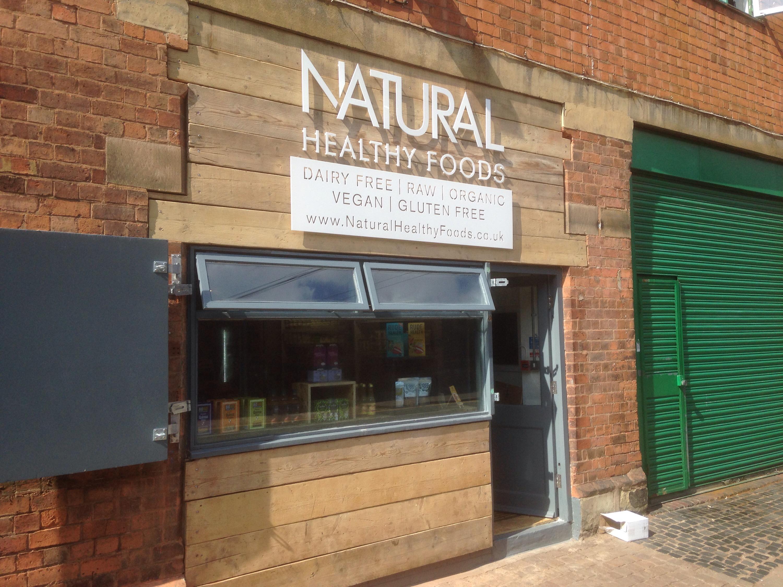 Birmingham health food shops | veggiefoodie